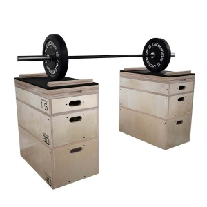 Jerk Block SET 90 cm ELITE Plyometric box Lacertosus