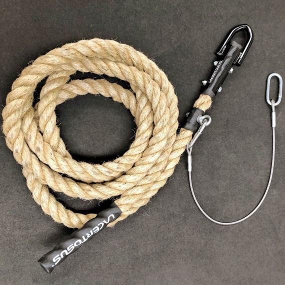 Fune arrampicata 6m-38 Canapa PRO Corde da arrampicata