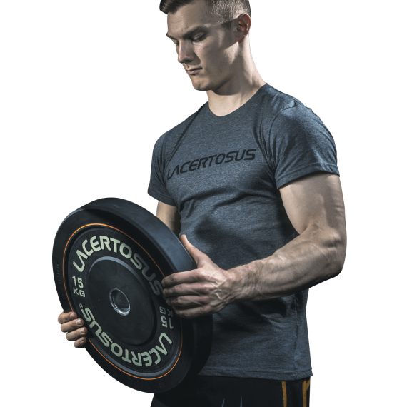 T-shirt Lacertosus Grey Medium Gym accessories and clothing