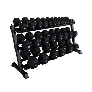 Dumbbells Set + Rack HERO 2 - 40 Kg Sets (pair) Lacertosus