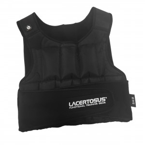 Weight Vest 5 Kg Adjustable Weights Vest Lacertosus