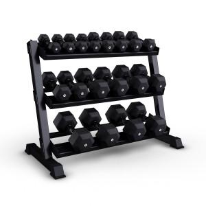 Dumbbells Set + Rack 2 - 20 Kg