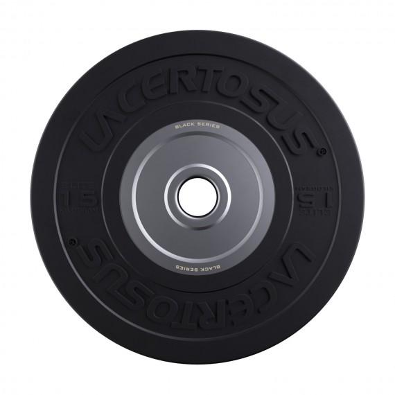 Bumper Plate 15 Kg Elite - Black Series