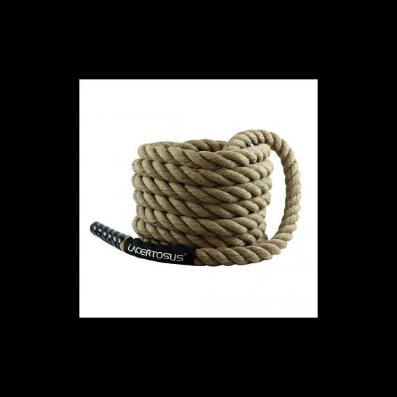 Battle Rope 12m-38 Hemp TRAINING Battle ropes Lacertosus