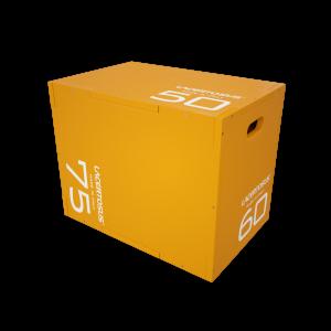 Plyometric box ELITE - ORANGE Scatole Plyo in legno per