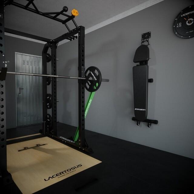 #homegym, la palestra a casa tua 💪#lacertosus #lacertosusequipment #lacertosustyle #passion #motivation #quality #design #style #homegym #garagegym #homeworkout #garageworkout #gymmotivation #gym #training #palestraacasa #allenamentoacasa #hometraining #crossfit #allenamentofunzionale #crosstraining #functionaltraining #muscle #dumbellworkout #dumbell #manubri #dischi #bumper #bumpers💻Web: www.Lacertosus.com ✉Preventivi e informazioni: info@lacertosus.com 🚚Trasporti attivi in tutta Italia ed estero ➡️Taggaci nelle tue foto @lacertosus_equipment