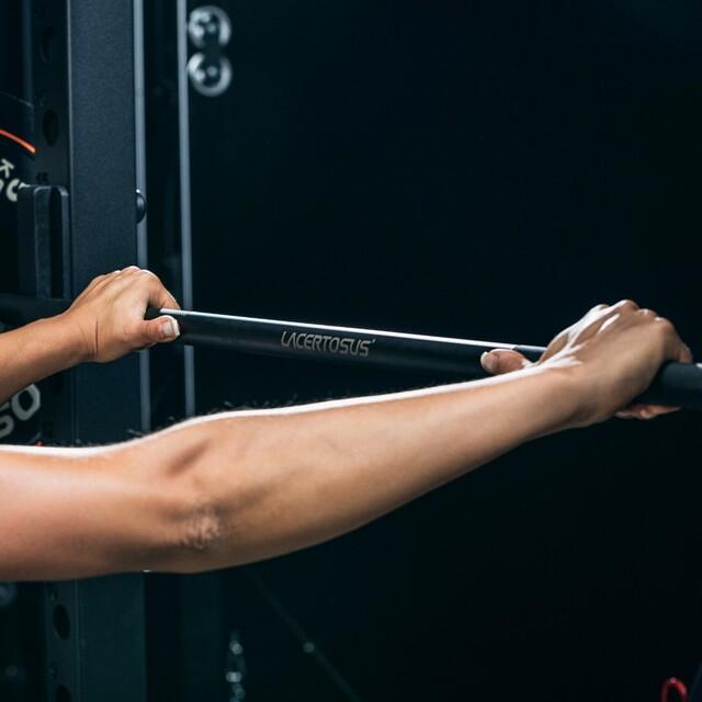 Not just a bar, a masterpiece 🔸#lacertosus #lacertosusequipment #lacertosustyle #passion #motivation #quality #design #style #homegym #garagegym #homeworkout #garageworkout #gymmotivation #gym #training #palestraacasa #allenamentoacasa #hometraining #crossfit #allenamentofunzionale #crosstraining #functionaltraining #muscle #dumbellworkout #dumbell #manubri #dischi #bumper #bumpers💻Web: www.Lacertosus.com ✉Preventivi e informazioni: info@lacertosus.com 🚚Trasporti attivi in tutta Italia ed estero ➡️Taggaci nelle tue foto @lacertosus_equipment