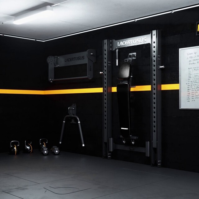 Robusta, pratica e salvaspazio! Vi presentiamo la nuova #HomeGym Lacertosus pensata per allenarsi al meglio senza rinunciare allo spazio💥🇬🇧 Robust, practical and space-saving! We present you the new HomeGym Lacertosus designed to train at your best without sacrificing space#lacertosus #garagegym #lacertosusequipment #garage #home #fitness #gym #wortkout #motivation #training #foldable #pocospazio #salvaspazio #foldable #dip #pullups #rack #panca #kettlebell #dumbells #functionaltraining #bodybuilding #crosstraining #pavimentogommato #dipfoldable #allenamento #palestra #palestraitalia #palestraincasa💻Web: www.Lacertosus.com ✉Preventivi e informazioni: info@lacertosus.com 🚚Trasporti attivi in tutta Italia ed estero ➡️Taggaci nelle tue foto @lacertosus_equipment