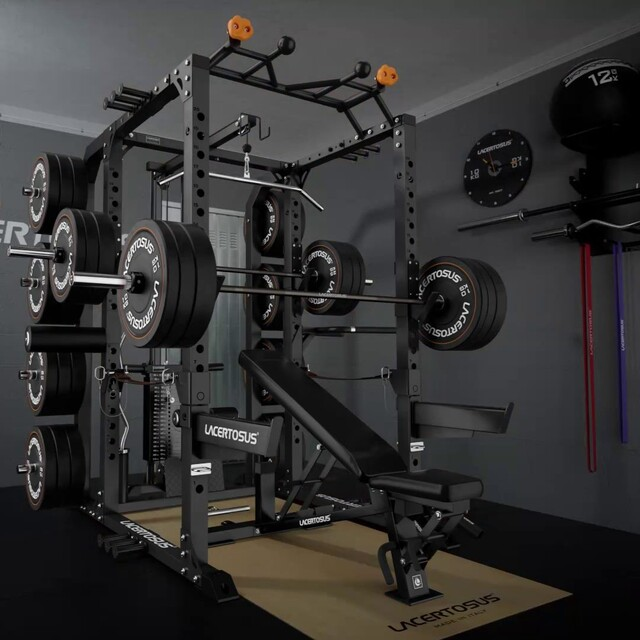 PRO Power Rack. Il Rack che hai sempre desiderato!🔝 Grazie alla vasta gamma di accessori opzionali può essere configurato esattamente secondo le tue esigenze di allenamento💥SPEDIZIONE GRATUITA con l'acquisto del PRO POWER RACK (fino al 31/03)🇬🇧 Power Rack. The Rack you've always wanted! Thanks to the wide range of optional accessories, it can be adapted according to your training needs#lacertosus #homegym #garagegym #lacertosusequipment #garagegym #palestraacasa #home #fitness #gym #training #trainingday #allenamento #allenamentoacasa #workout #powerrack #rack #power #panca #bumper #pullups #pancapiana #muscle #allenamentofunzionale #bodybuilding #powerlifting #functionaltraining #crosstraining #bilanciere #madeinitaly #fitnessmotivation💻Web: www.Lacertosus.com ✉Preventivi e informazioni: info@lacertosus.com 🚚Trasporti attivi in tutta Italia ed estero ➡️Taggaci nelle tue foto @lacertosus_equipment