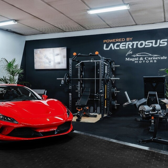 Ti piacerebbe allenarti qui?💯🔥🇬🇧 For the best Training gear, you should come to us; for the best cars collection you need to go to Magni & Carnevale @magniecarnevale#lacertosus #lacertosusequipment #lacertosustyle #machine #garage #homegym #homeworkout #garagegym #garageworkout #magniecarnevalemotors #magnicarnevale #powerrack #rack #legpress #workout #muscle #training #madeinitaly #quality #palestra #fitnessitalia #gym #trainingday #motivation #fitness #propowerrack #dumbell #bumper #barber💻Web: www.Lacertosus.com ✉Preventivi e informazioni: info@lacertosus.com 🚚Trasporti attivi in tutta Italia ed estero ➡️Taggaci nelle tue foto @lacertosus_equipment
