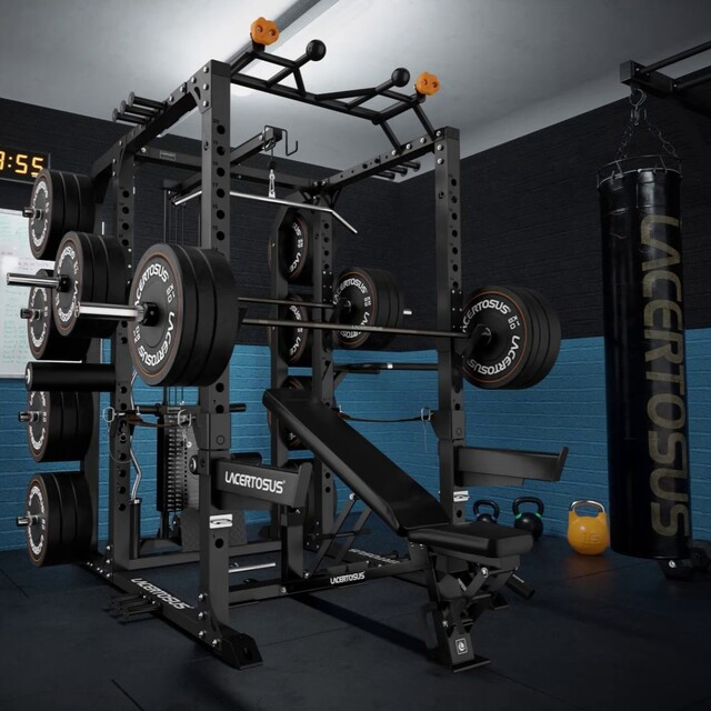 Il Power Rack professionale Lacertosus è realizzato per durare nel tempo, curato in ogni dettaglio per soddisfare le tue esigenze d'allenamento💪 Ideale anche nelle #homegym e #garagegym💥SPEDIZIONE GRATUITA con l'acquisto del PRO POWER RACK (fino al 31/03)🇬🇧 The Lacertosus professional Power Rack is built to last over time, with an accurate attention to every detail to meet your training needs. Also ideal in Home Gym and Garage Gym#lacertosus #lacertosusequipment #garagegym #palestraacasa #home #fitness #gym #training #trainingday #allenamento #allenamentoacasa #workout #powerrack #rack #power #panca #bumper #pullups #pancapiana #muscle #allenamentofunzionale #bodybuilding #powerlifting #functionaltraining #crosstraining #bilanciere #madeinitaly #fitnessmotivation💻Web: www.Lacertosus.com ✉Preventivi e informazioni: info@lacertosus.com 🚚Trasporti attivi in tutta Italia ed estero ➡️Taggaci nelle tue foto @lacertosus_equipment